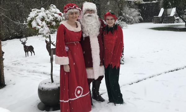 Santa At Emo Court