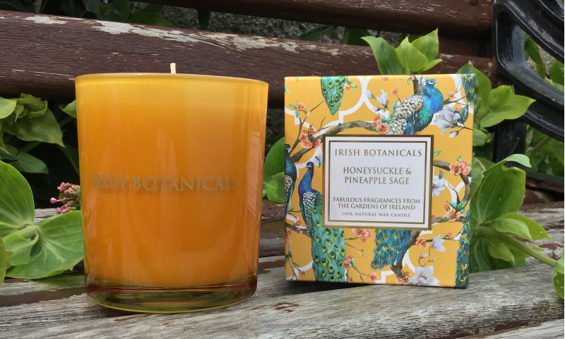 IRISH BOTANICALS HONEYSUCKLE & PINEAPPLE SAGE DIFFUSER